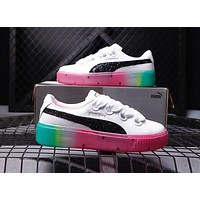 PUMA X SOPHIA WEBSTER Trending Women Stylish Rainbow Watermelon Sole Board Shoe Sport Sneakers I-A0-HXYDXPF