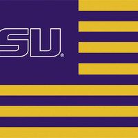 LSU Tigers 3 Ft. X 5 Ft. Flag W/Grommets