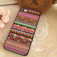 Ethnic Strip BOHO Style Case for iPhone 4/ 4S