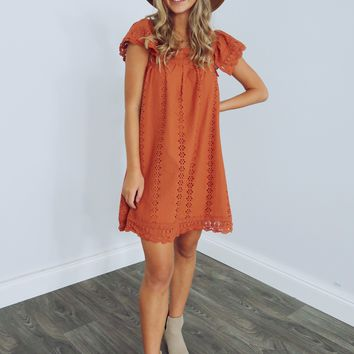 Pumpkin Spice Season Dress: Pumpkin