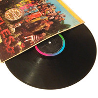 FALL SALE The Beatles Sgt Pepper's Lonely Hearts Club Band LP Album A Day In The Life Vinyl Record Lovely Rita