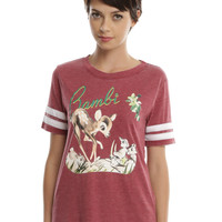 Disney Bambi Girls Athletic T-Shirt