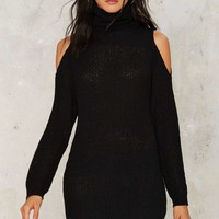 Ace Out Turtleneck Sweater Dress