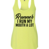 Runner Womens Workout Tank Top