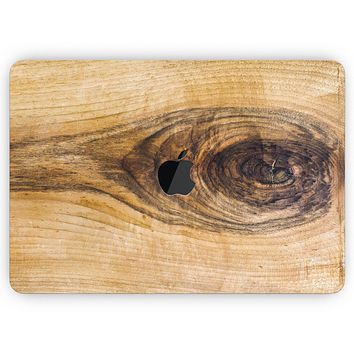 """Light Knotted Woodgrain - Skin Decal Wrap Kit Compatible with the Apple MacBook Pro, Pro with Touch Bar or Air (11"""", 12"""", 13"""", 15"""" & 16"""" - All Versions Available)"""