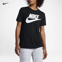 """""""NIKE"""" Fashion Casual Letter Print Women Round Neck Short Sleeve T-shirt Tops"""