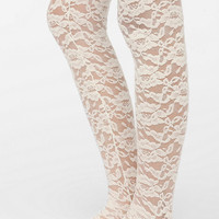 Brushed Lace Tight