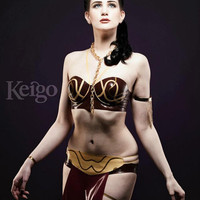 Star Wars Princess Leia Inspired Rubber Latex Outfit