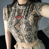 Killer Snakeskin Top