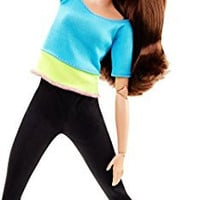 Barbie Made to Move Barbie Doll, Blue Top