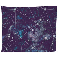Cosmic Watercolor Tapestry