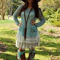 Wanted You More Sweater Top - Mint