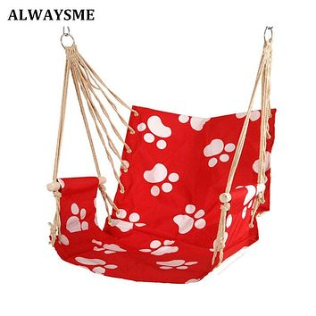 Patio Bedroom Dorm Porch Tree Hanging Hammock Rope Chair Swing Seat Indoor Outdoor Seating Chair For School Dorm