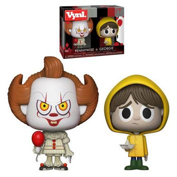 Preorder June 2018 It Pennywise and George VYNL Figure 2-Pack