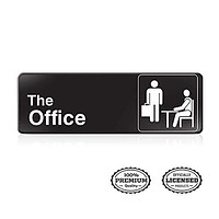 The Office Wall Art,The Office Sign: Easy to Mount Informative Durable Acrylic Sign with Symbols
