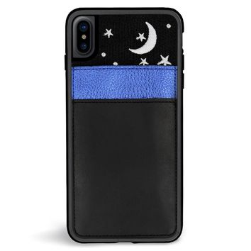 Nightsky Pocket Embroidered iPhone XS Max Case
