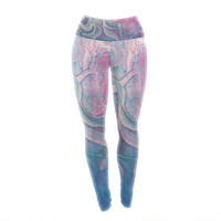 "Mat Miller ""Electric Dreams"" Yoga Leggings"