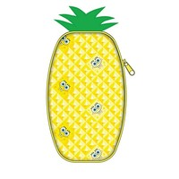 Nickelodeon SpongeBob Pineapple Pencil Pouch 3 H x 7 12 W x 18 D Yellow - Office Depot
