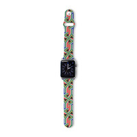 """Bruce Stanfield """"South Africa"""" Multicolor Apple Watch Strap"""