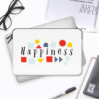 Happiness Macbook 12 sleeve by Kanika Mathur | Casetify