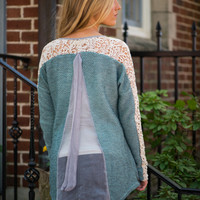 All That And More Sweater, Mint