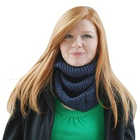 Women's Winter Knitted Neck Warmer Scarves Ass't Colors