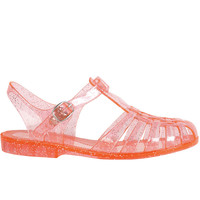 Angelica Jelly Sandal - Glitter Coral