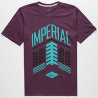 Imperial Motion Greener Grass Mens T-Shirt Purple  In Sizes