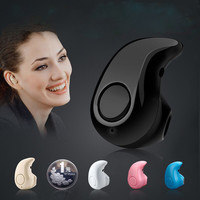 Hot Mini Wireless Bluetooth Earphone In Ear Stereo Bluetooth Headsets Stealth Handsfree Earbuds Universal for Bluetooth Devices