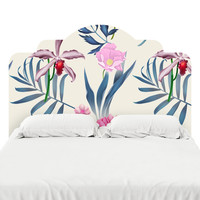 In the Tropics Headboard Decal