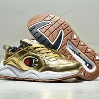 Champion tide brand men and women breathable sports running shoes