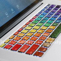 Light color keyboard decal MacBook decal MacBook air sticker MacBook pro decal