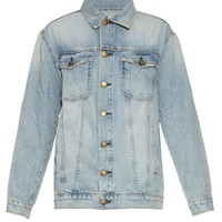 The Oversized Trucker denim jacket | Current/Elliott | MATCHESFASHION.COM UK