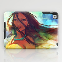 The Wind... iPad Case by Alice X. Zhang