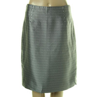 Marc Jacobs Womens Printed Silk Pencil Skirt