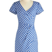 Holiday Sneak Peek - Variety Store Dress in Dotted | Mod Retro Vintage Dresses | ModCloth.com