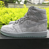 KAWS x Air Jordan 1 Cool Grey Men Basketball Sneaker size 40-46
