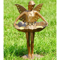 SPI Garden Collection Fairy Ballerina Birdfeeder