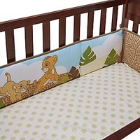 Disney Baby 4-Piece Secure-Me Crib Bumper - The Lion King
