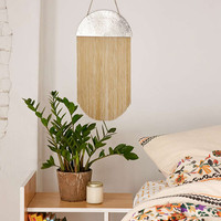 Fringed Hammered Frida Half Circle Decor - Urban Outfitters