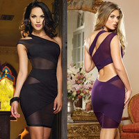 Night Club Bandage Mini Dress
