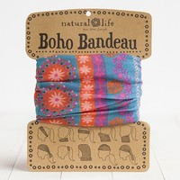 Pink  &  Purple  Boho  Bandeau  From  Natural  Life