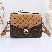 Onewel LV Bag Louis Vuitton Bag Handbag Square Bag Crossbody Bag Coffee