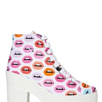JC Play by Jeffrey Campbell AsIf Platform Boot - Lips