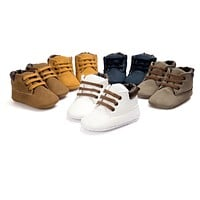 Suede Baby Boots