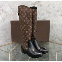 Wearwinds Louis Vuitton LV Fashion Women Leather High Boots Shoes