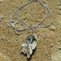 Water Goddess Mother of Pearl Necklace