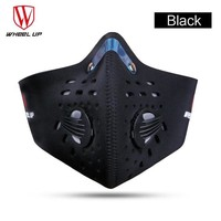 Bicycle Mask Winter Warm Windproof Black Green Face Mask Outdoor Sports Bike Face Shield Cycling Mask Face Mask Scarf