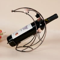 Bottle wine rack.Suit for home and office.Put the wine in right place = 4486840708