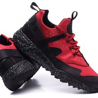 """""""Nike Air Huarache Utility PRM"""" Men Sport Casual Multicolor Sneakers Running Shoes"""